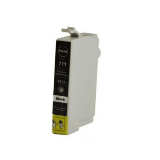 Tinteiro Compatível Epson Preto (T0711/T0891)