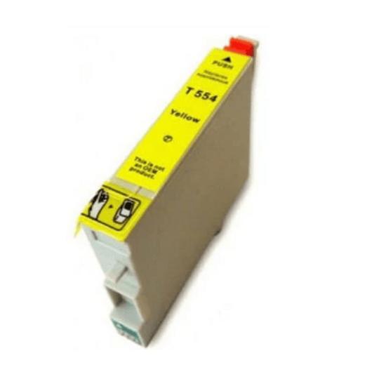 Tinteiro Compatível Epson Amarelo (T0554)