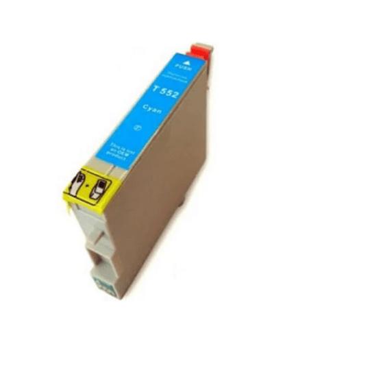 Tinteiro Compatível Epson Azul (T0552)