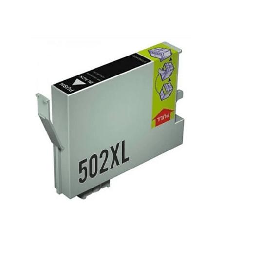 Tinteiro Compatível Epson 502 XL Preto (T02W1 / T02V1)