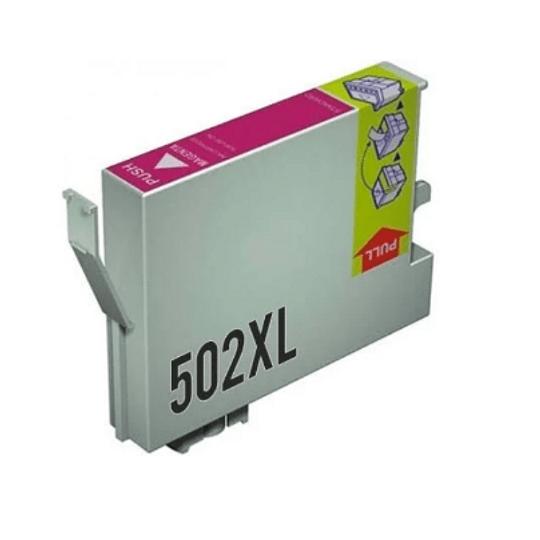 Tinteiro Compatível Epson 502 XL Magenta (T02W3 / T02V3)