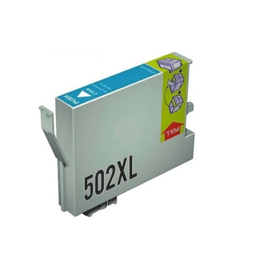 Tinteiro Compatível Epson 502 XL Azul (T02W2/T02V2)