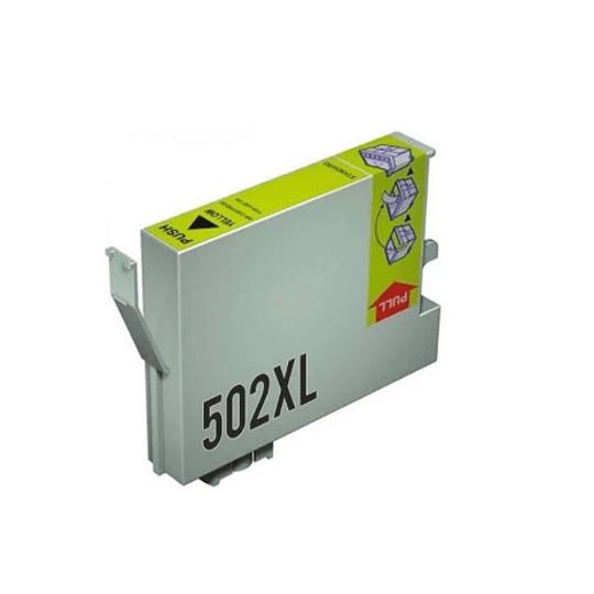 Tinteiro Compatível Epson 502 XL Amarelo (T02W4 / T02V4)