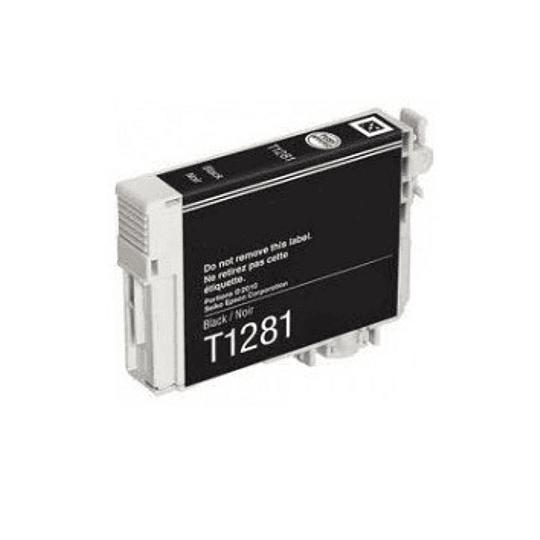 Tinteiro Compatível Epson Preto (T1281)