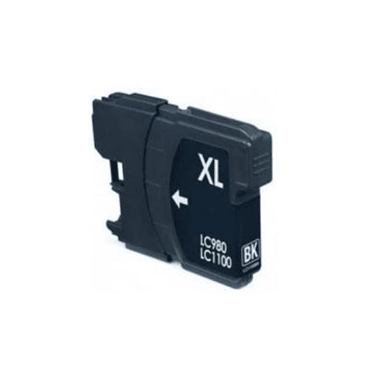 Tinteiro Compatível Brother Preto (LC980/LC985/LC1100)
