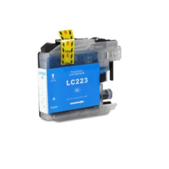 Tinteiro Compatível Brother Azul (LC223)