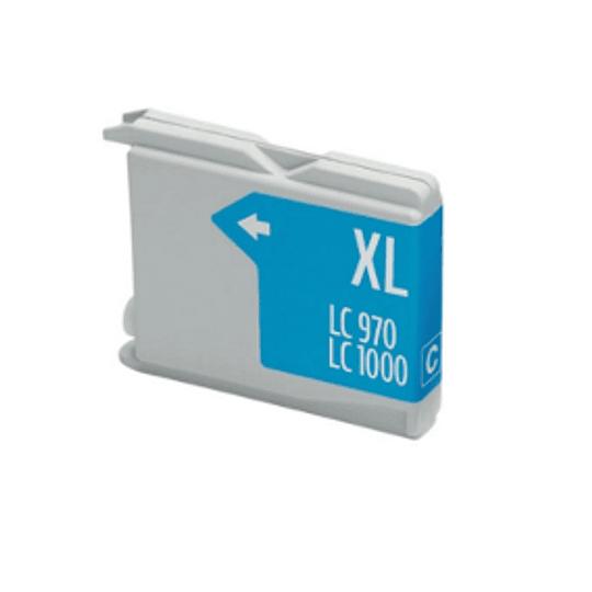 Tinteiro Compatível Brother Azul (LC970/LC1000)