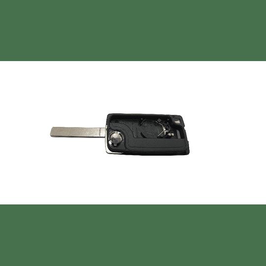Caixa Substituição Fly Key Auto 3 Botões Luz Com Suporte