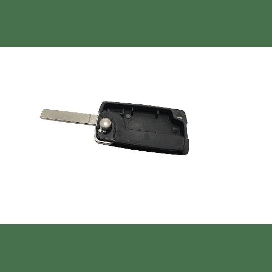 Caixa Substituição Fly Key Auto 3 Botões Luz Sem Suporte
