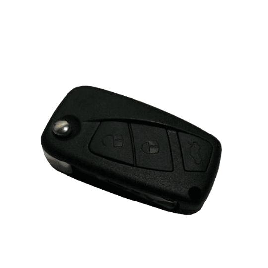 Caixa Substituição Fly Key 3 Botões com suporte lateral