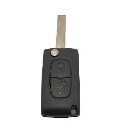 Caixa substituição retrátil auto 2 botões sem contato de pilha
