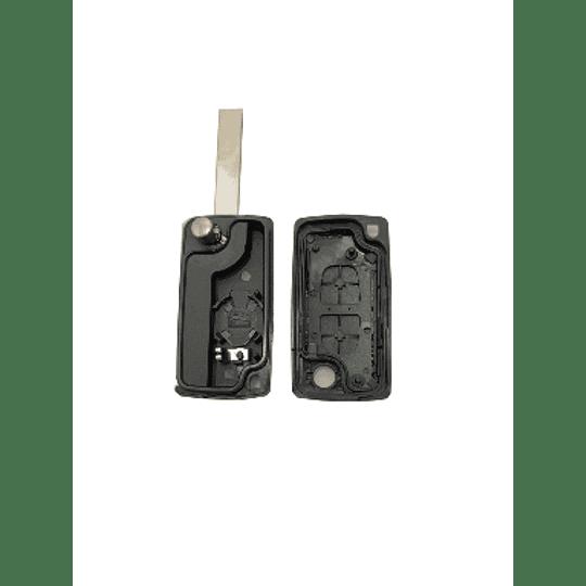 Caixa substituição retrátil auto 2 botões com contato de pilha