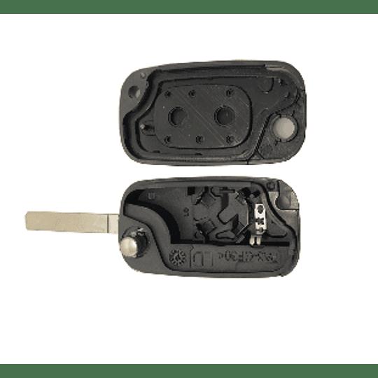 Caixa substituição fly key auto 2 botões
