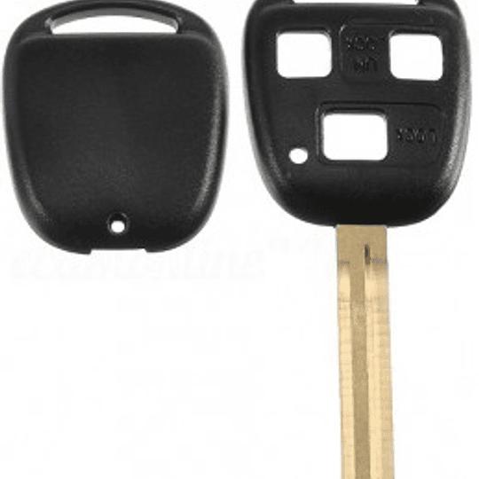 Caixa substituição auto 3 botões TOY43