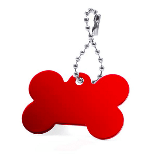 Porta chaves com formato de osso