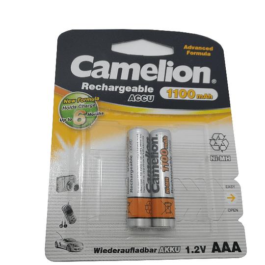 Pilha recarregaveis LR03 CAMELION 1100mAh