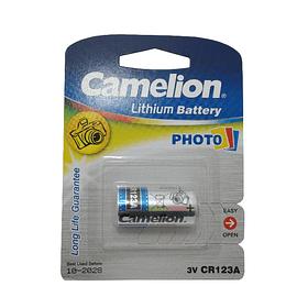 Pilha camelion CR123A