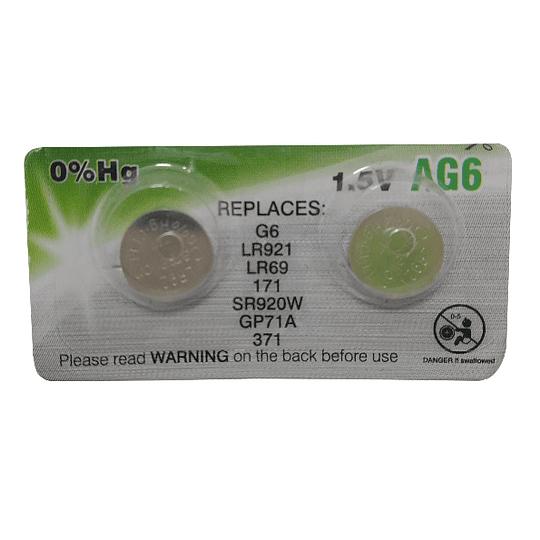 Pilha Camelion AG6 Green (UNIDADE)