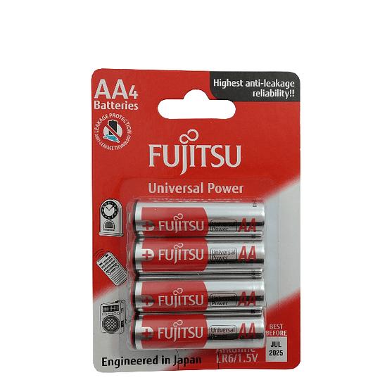 Blister 4 pilhas FUJITSU LR6/AA