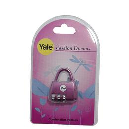 Cadeado Yale temáticos com segredo