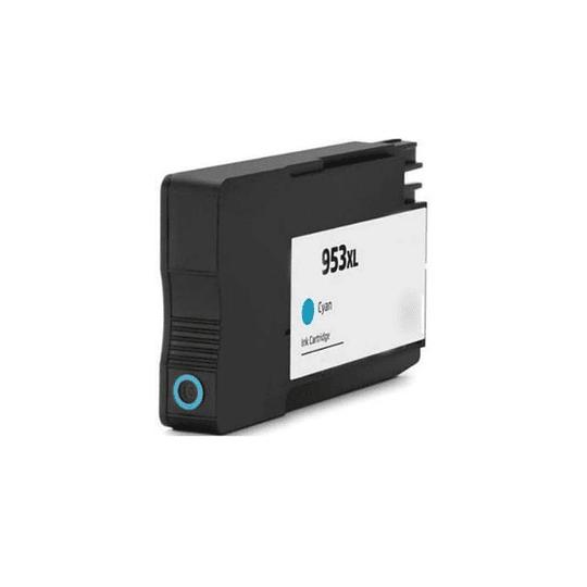 Tinteiro HP compatível 953 XL Azul