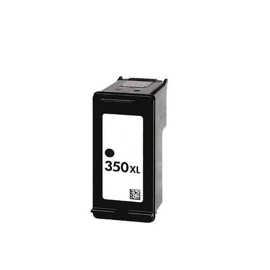Tinteiro Reciclado HP nº 350 XL Preto (CB336EE)