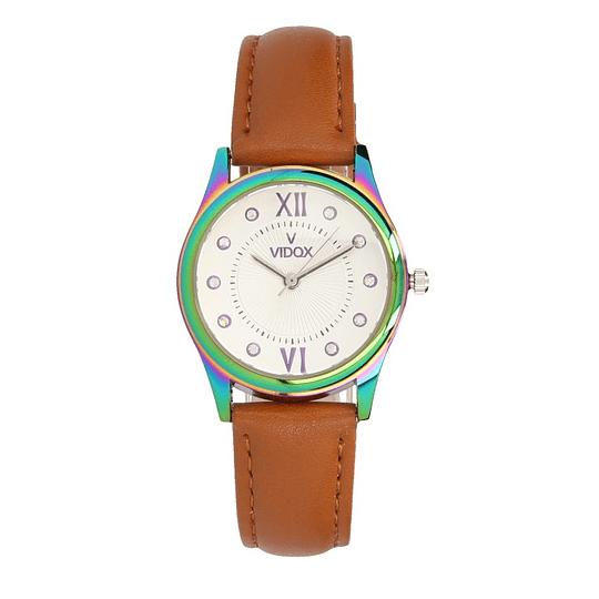 Relógio castanho mulher
