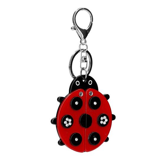 Porta chaves joaninha