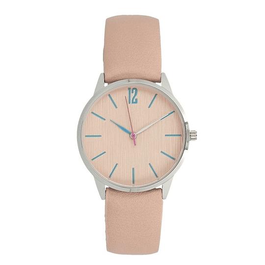 Relógio mulher indicadores azuis