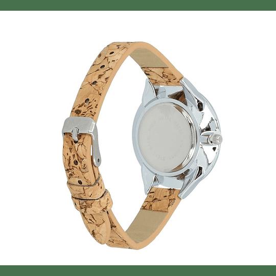 Relógio bracelete cortiça para senhora