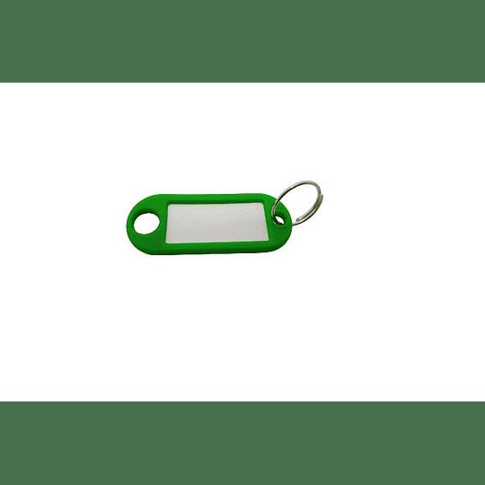 Etiqueta identificação chaves ponta redonda