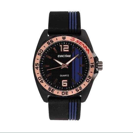 Relógio preto/vermelho homem