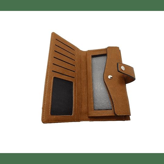 Carteira com porta moedas e cartões