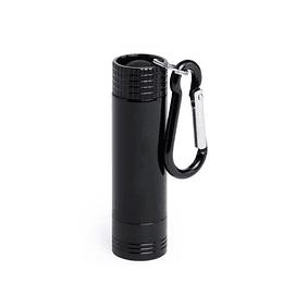 Porta-chaves alumínio com lanterna DERSTAK