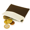 Carteira porta moedas clikclak