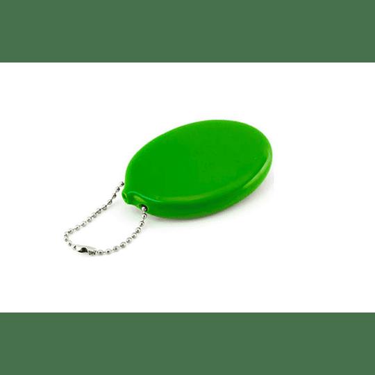 Porta moedas e chaves oval