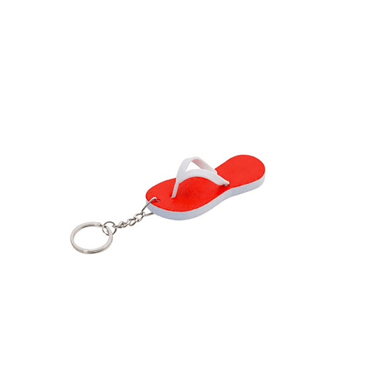 Porta chaves chinelo EVA