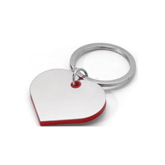 Porta chaves coração em metal