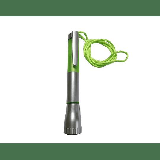Lanterna e esferográfica