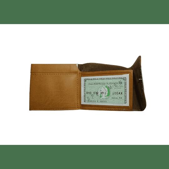 Carteira com porta moedas clikclac
