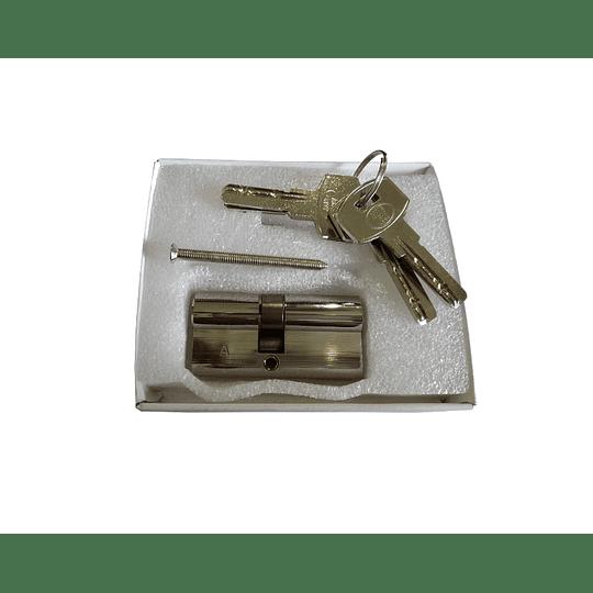 Cilindro de segurança em latão, 65(35x30) AMIG