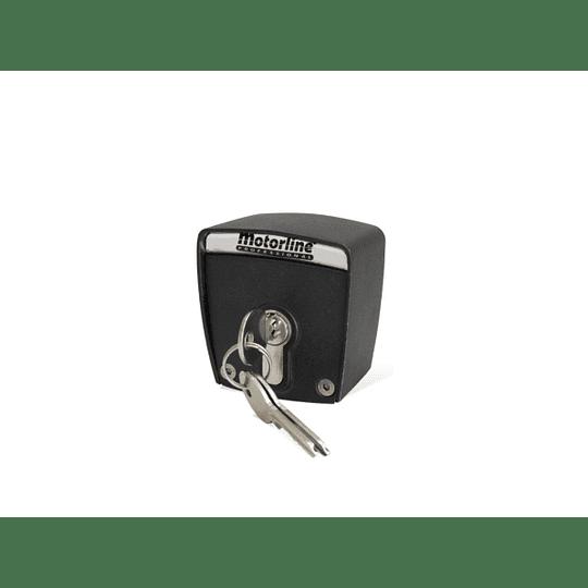 Seletor de chave com cilindro europeu