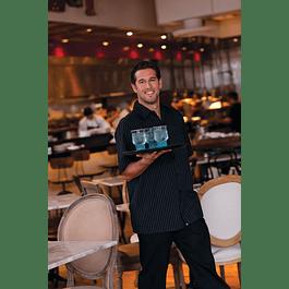 Camisa Cook Shirt M/C Pinstripe