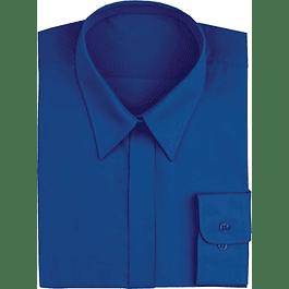 Blusa Dress Shirt Royal Blue