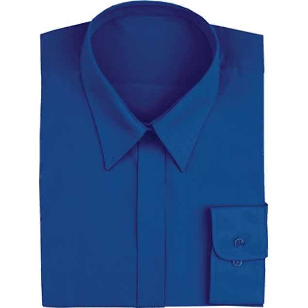 Blusa Dress Shirt Royal Blue