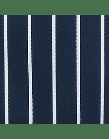 Pechera Clásica listada azul rayas blancas A100