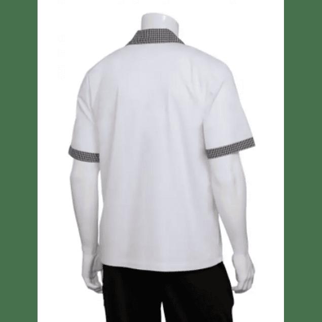 Cook Shirt M/C Contrast Blanca Blanco Apl Pie