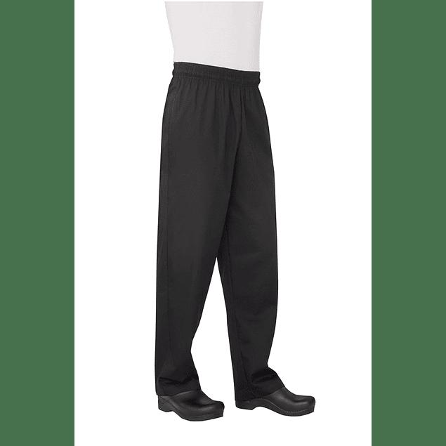 Pantalon Baggy Basic Negro