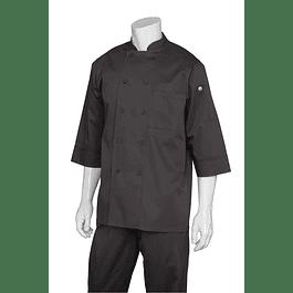 Chaqueta Basic 3/4 Sleeve Negra Negro