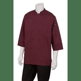 Chaqueta Basic 3/4 Sleeve Merlot